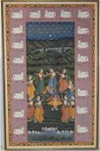 A 19th C. North India Picchvai Depicting the Rasalila
