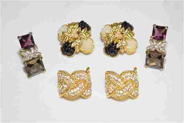 Group of Costume Ear Clips
