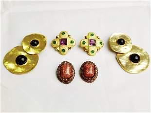 Group of Costume Earrings/Ear Clips