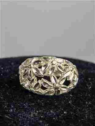 Kabana 925 Silver Costume Ring