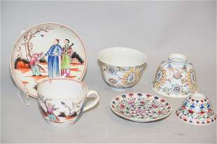 Group of 18-19th C. Chinese Porcelain Export Wares