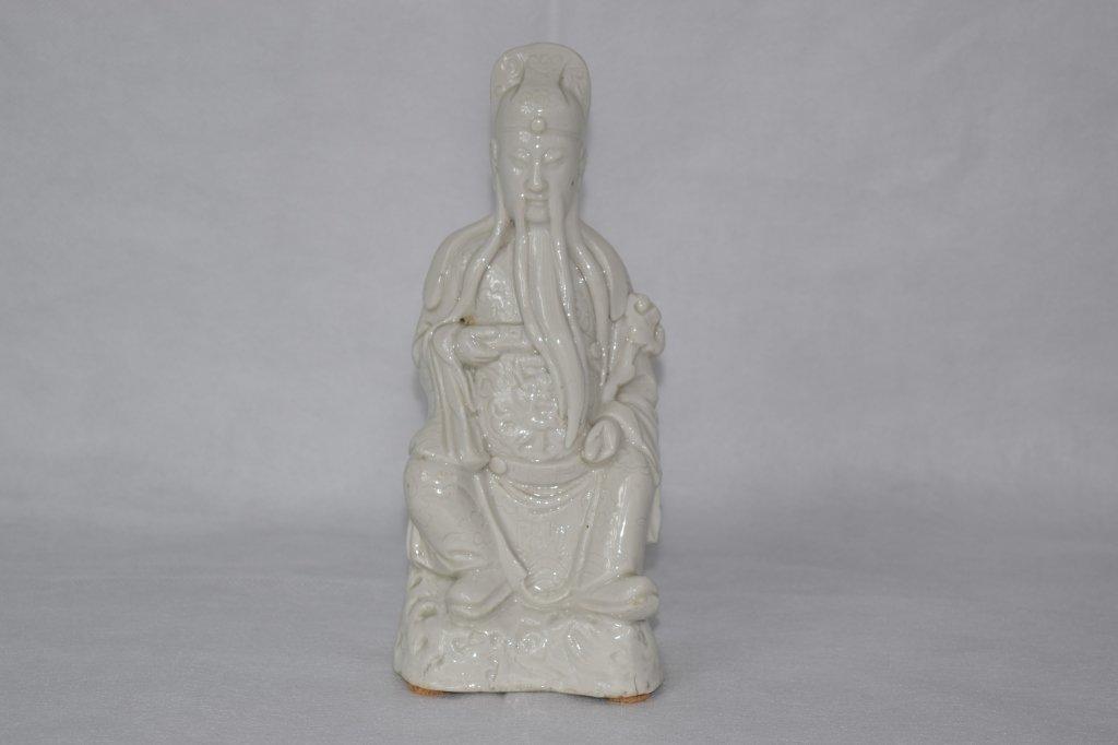 Chinese Blanc de Chine Lu God