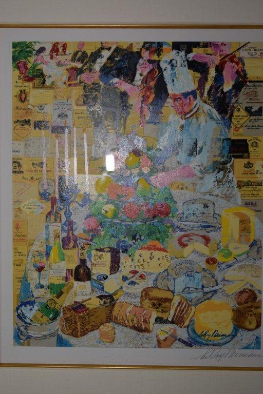 """""""La Cuisine Francaise"""" Serigraph by Leroy Neiman - 2"""