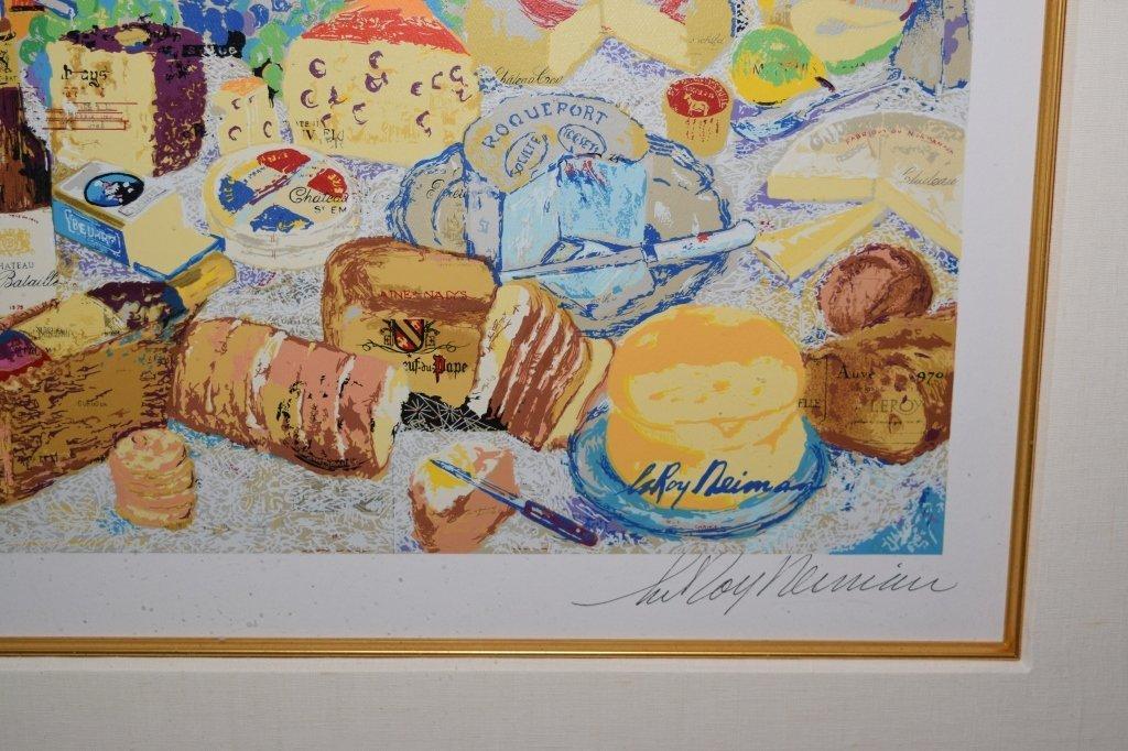 """""""La Cuisine Francaise"""" Serigraph by Leroy Neiman - 3"""