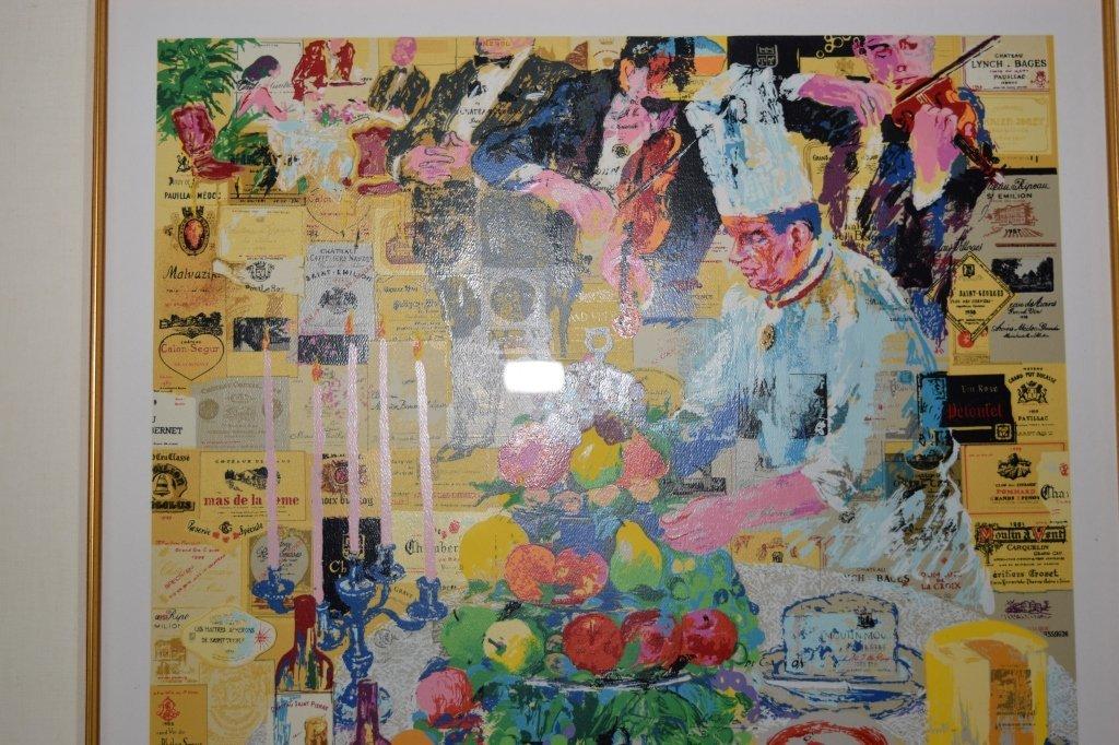 """""""La Cuisine Francaise"""" Serigraph by Leroy Neiman - 4"""