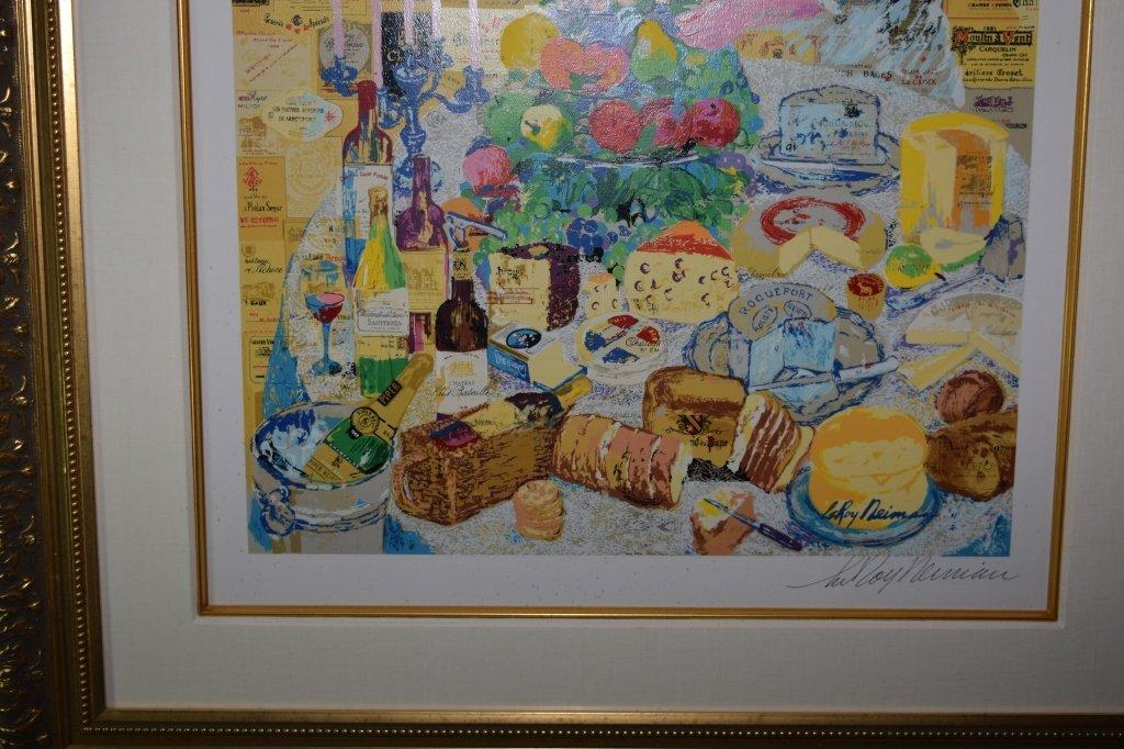 """""""La Cuisine Francaise"""" Serigraph by Leroy Neiman - 5"""