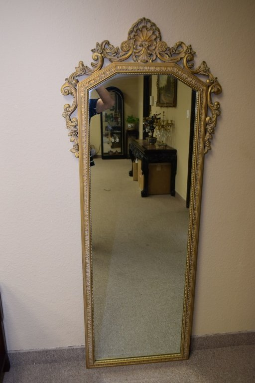Early 19th C. Gilt Wood Frame Mirror