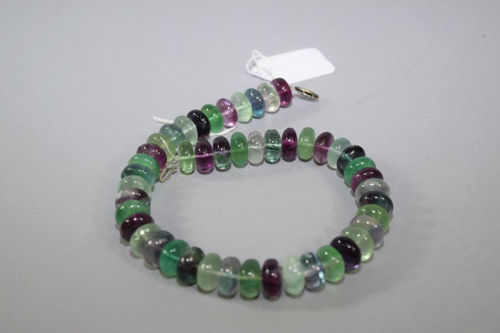 Natural Multi-Colored Crystal Necklace