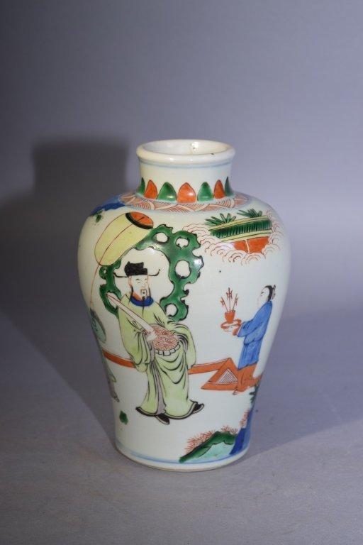 KangXi Period Chinese WuCai Vase