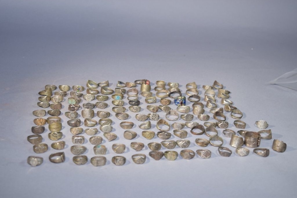 Group of 20 Silver/Non-Silver Rings