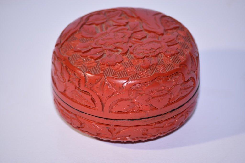 Chinese Cinnabar Stamp Ink Box