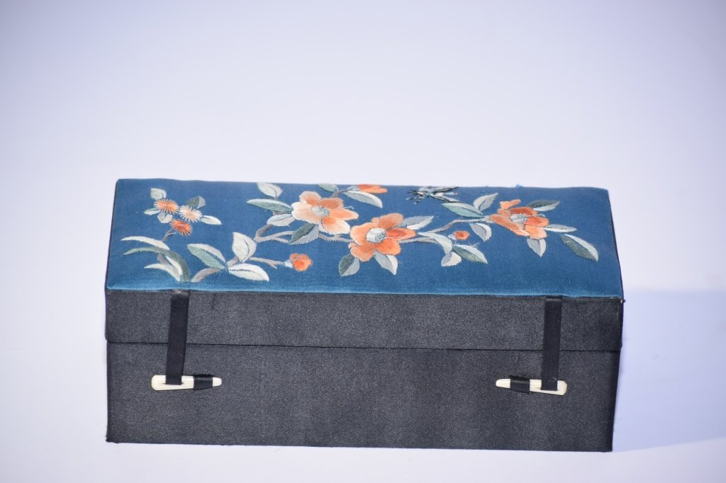 Chinese Embroidered Box