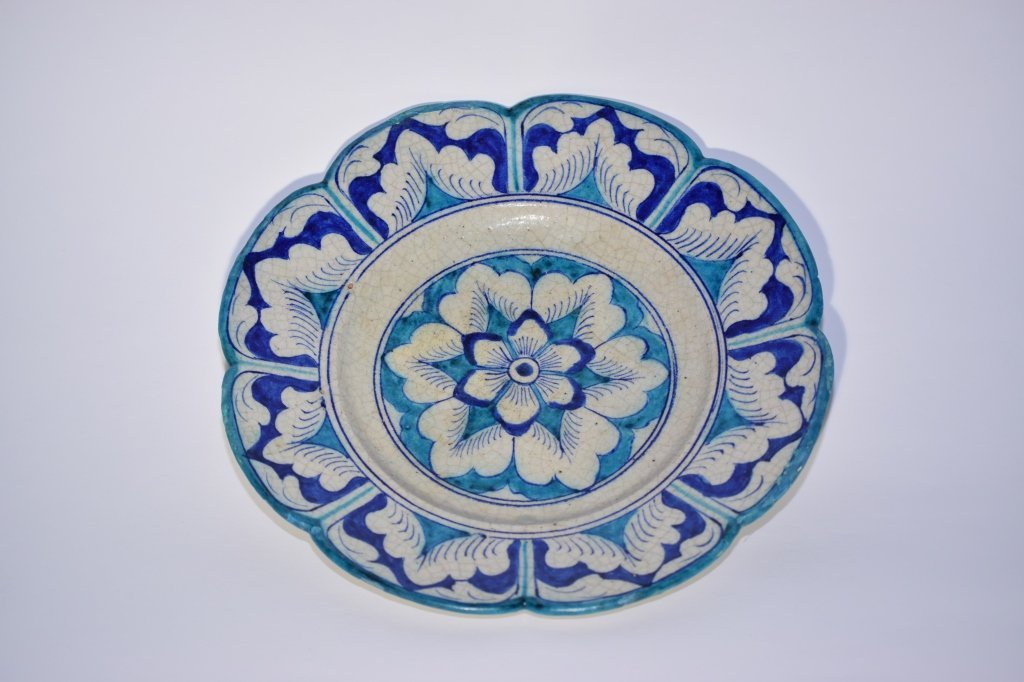 18th C. Turkish Blue and White Plate