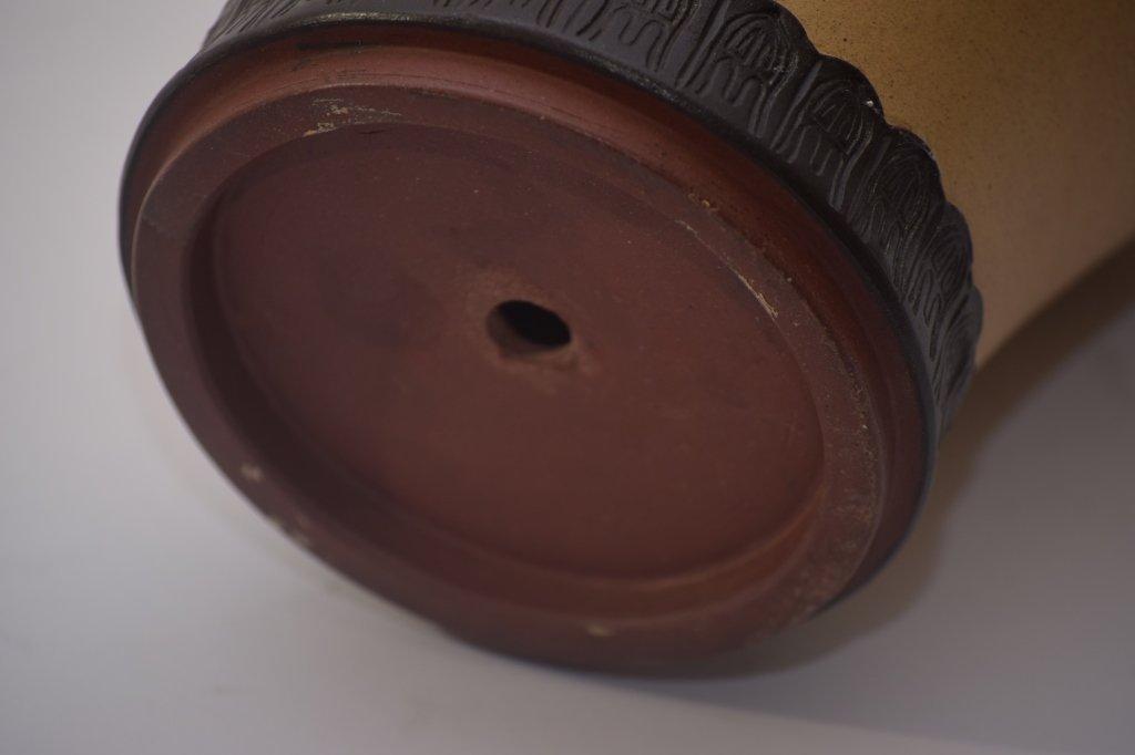 Qing Chinese ZiSha Vase - 9