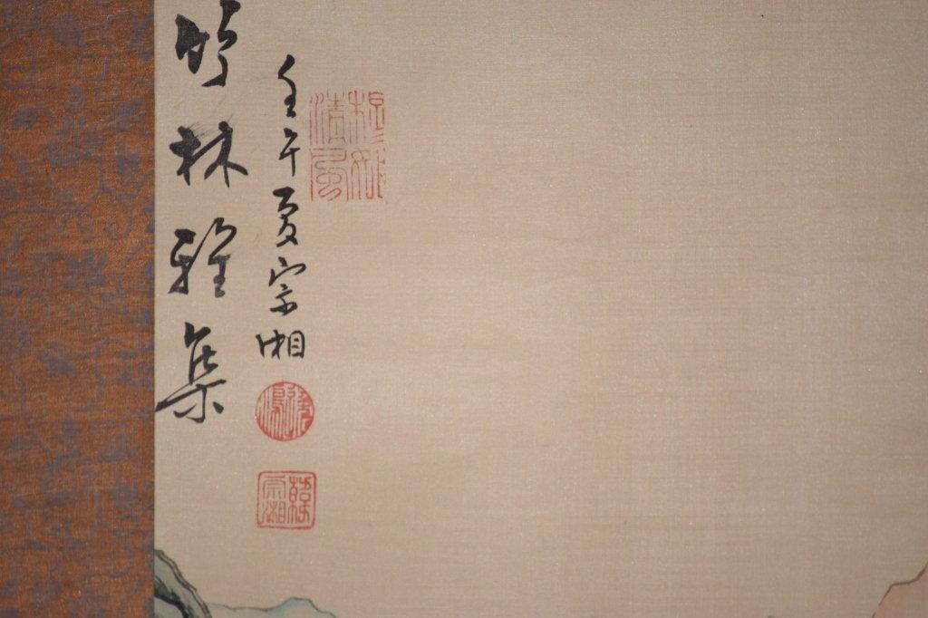 Republic Chinese Watercolor Scroll, Han ZongXiang - 3