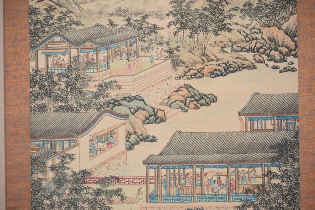 Republic Chinese Watercolor Scroll, Han ZongXiang - 5