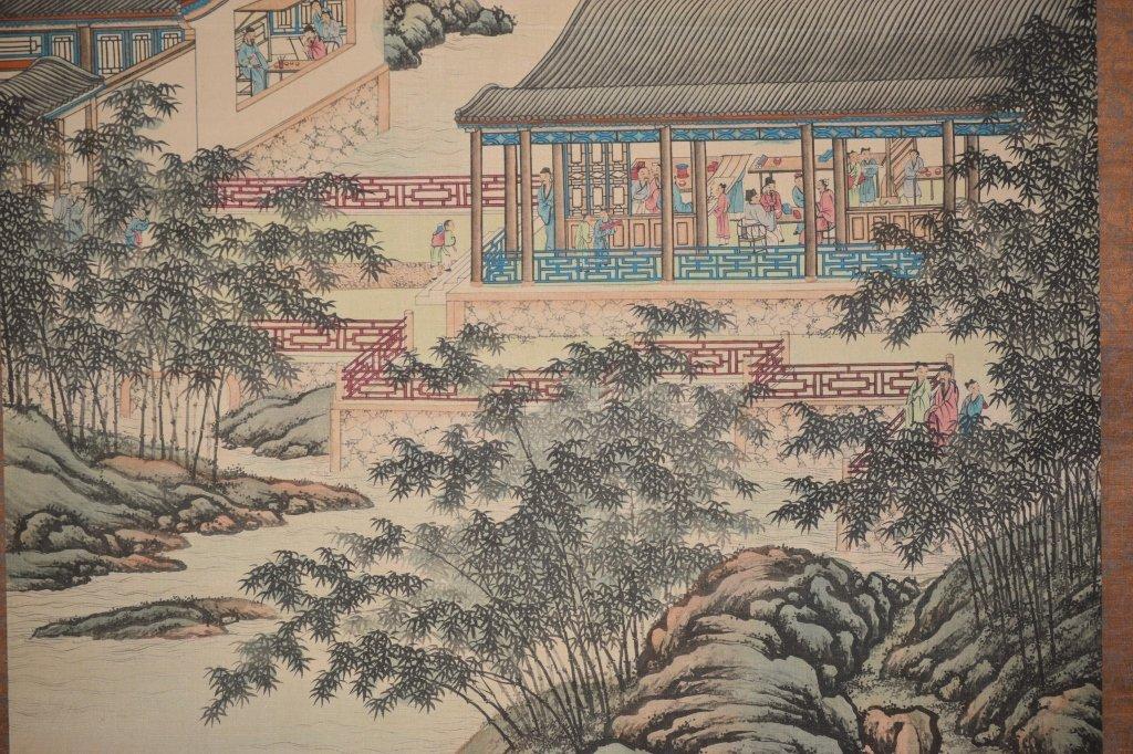Republic Chinese Watercolor Scroll, Han ZongXiang - 6