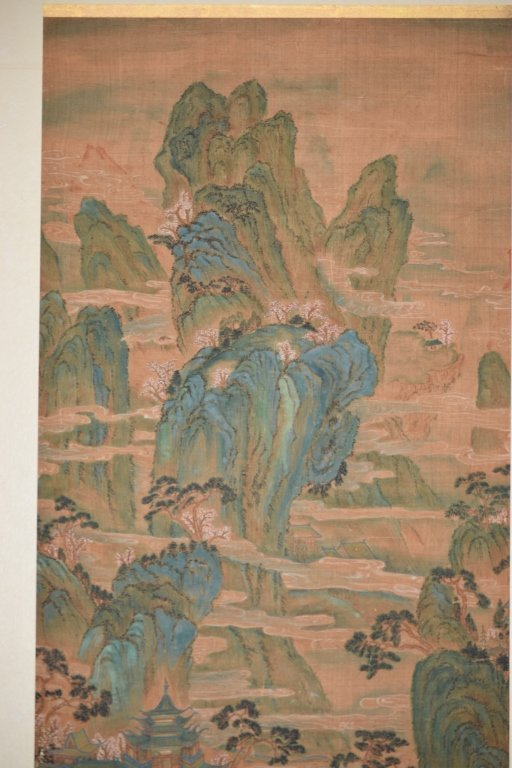 19th C. Chinese Watercolor after Chou Ying's Style - 3