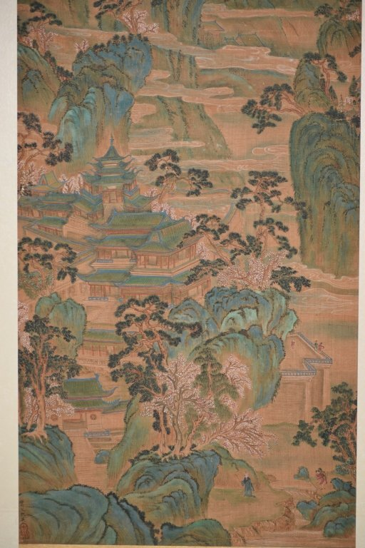 19th C. Chinese Watercolor after Chou Ying's Style - 4