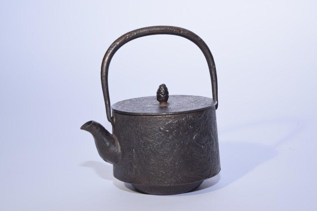 Japanese Metal Water Pot - 2