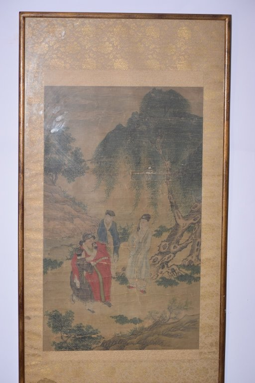 Ming or Qing Chinese Watercolor Painting