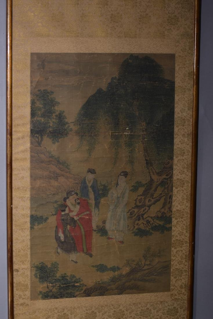 Ming/Qing Chinese Watercolor Painting, Unknown