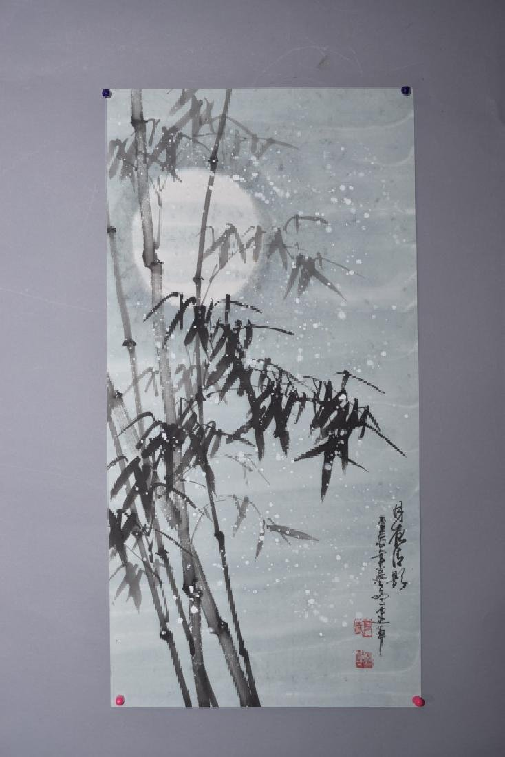 Chinese Watercolor Painting by He JianHua