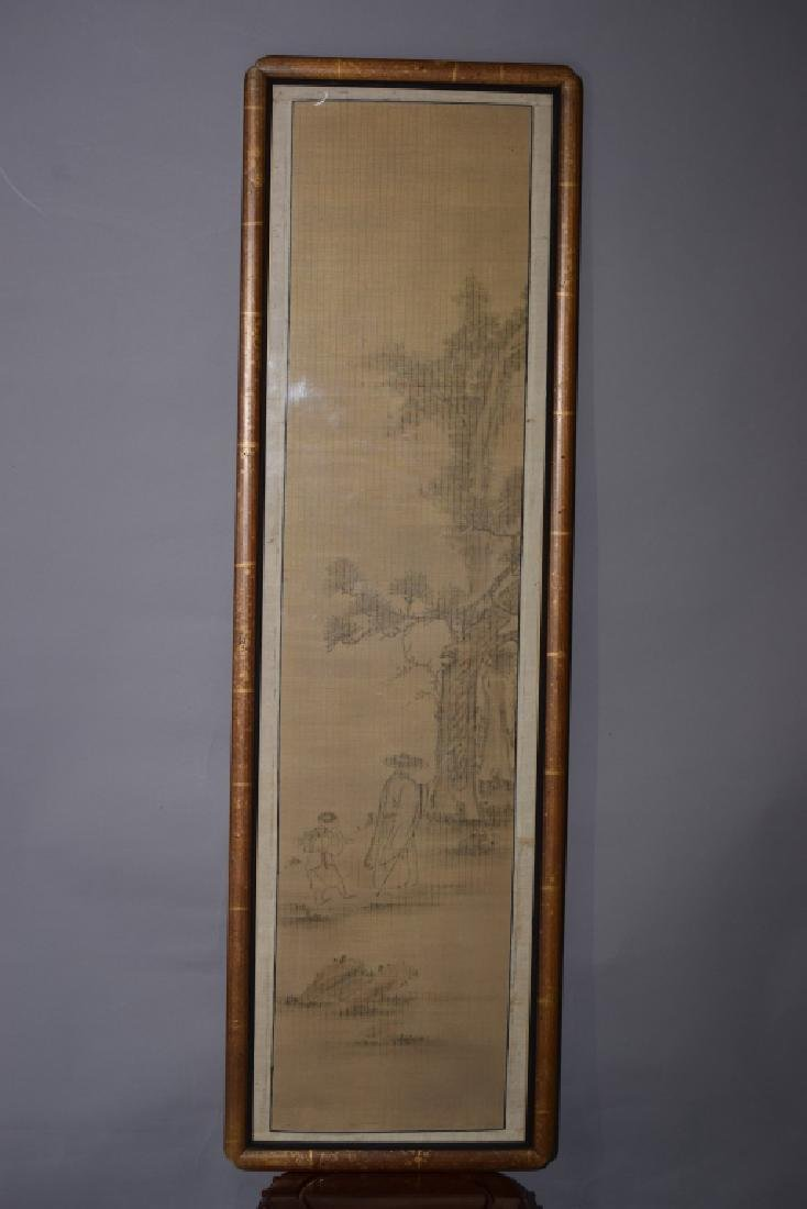 Japanese Watercolor Scroll