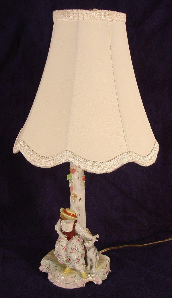 19: Dreseden bedroom lamp