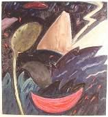 286: MARIANNE STIKAS, (American, b. 1947), oil on linen