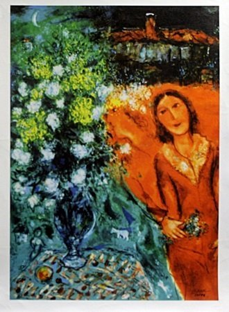 Giclee on Canvas After Marc Chagall (3C)