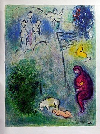 Giclee on Canvas After Marc Chagall (4C)