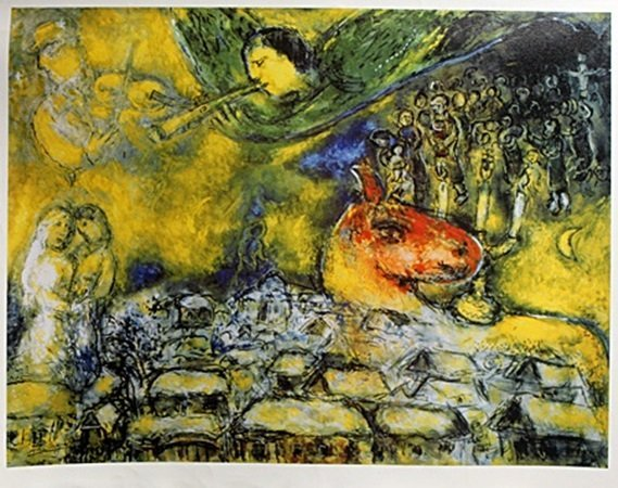 Giclee on Canvas After Marc Chagall (6C)
