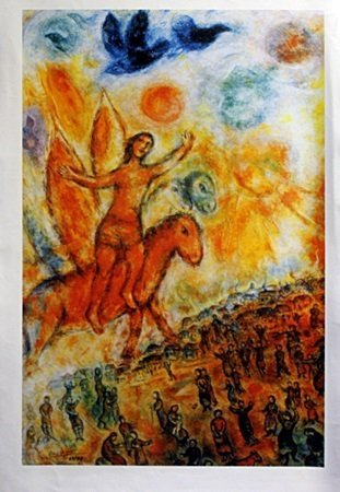 Giclee on Canvas After Marc Chagall (7C)
