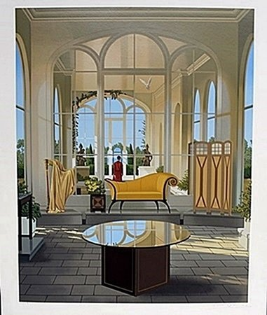"Lithograph, Entitled: ""Luxury Suite"""