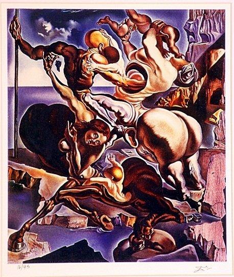 Salvador Dali   - Family of Marsupial Centaurs