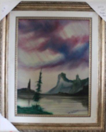 """Purple Haze"" Original Oil by William Verdult"