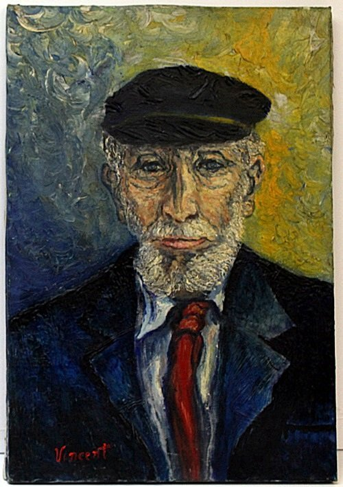 Oil on Canvas by Vincent Van Gogh