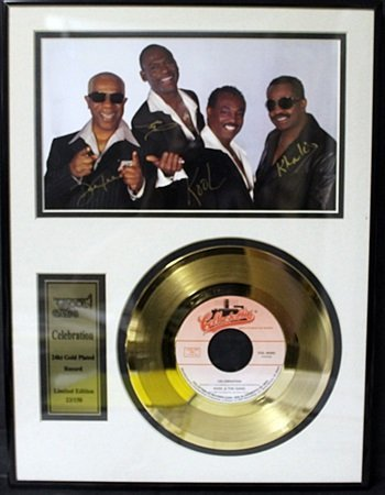 """24KT Gold Plated Record """"Kool and The Gang"""""""