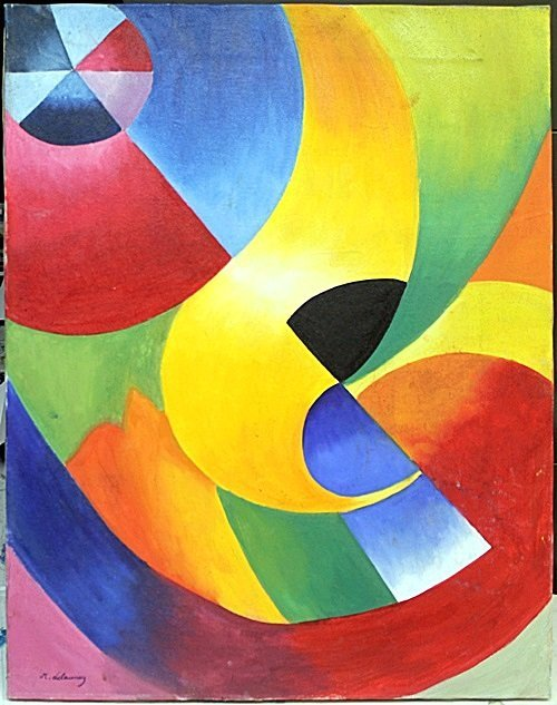 Oil Painting on Canvas by Robert Delaunay