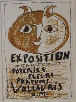 Exposition du 24 juillete au 29 aout lithograph -