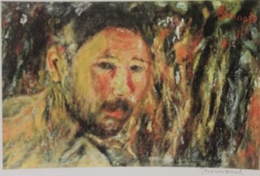 The Man  - Signed Lithograph - By Bonnard