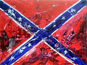 Confederate Flag - Original by Michael Schofield