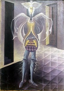 El Embarazo - Oil Painting on Canvas - Remedios Varo