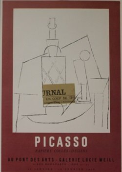 Lucie Weill Galerie Lithograph - Picasso