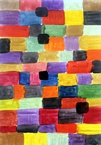 Composition VI - Oil Painting On Paper - Paul Klee
