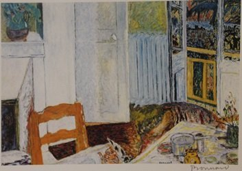Searching the Floor  - Signed Lithograph - By Bonnard