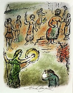Pencil Signed Lithograph - Marc Chagall