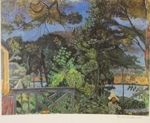 Riverside  - Signed Lithograph - By Bonnard