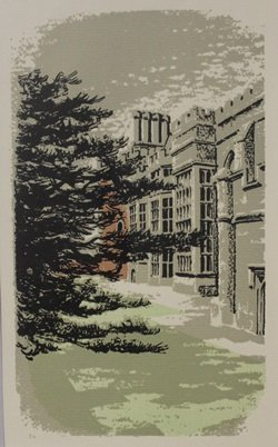 University - Lithograph - by legrand